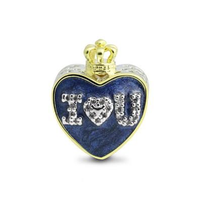 I Love You Heart Charm