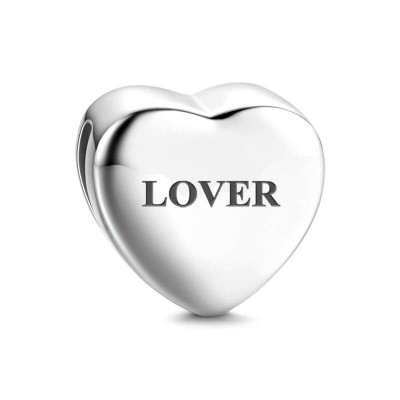 Heart Photo With Engraving Charm - Reflexions Charms