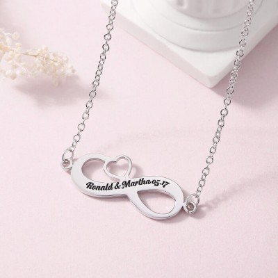 Personalized Engraved Name Necklace