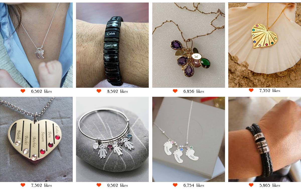 adorlla Personalized Jewelry